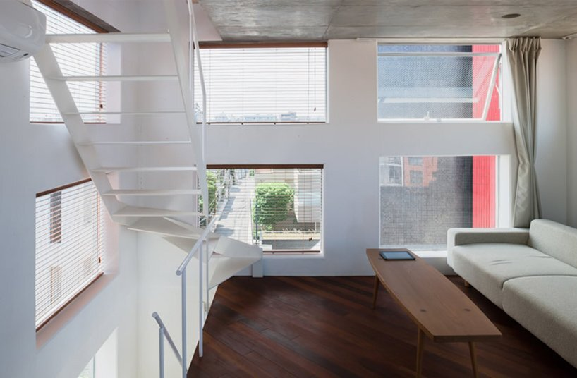 Yamate Street House - Unemori Architects - Tokyo - Living Area - Humble Homes