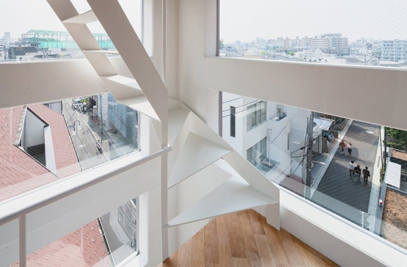 Yamate Street House - Unemori Architects - Tokyo - Window View - Humble Homes
