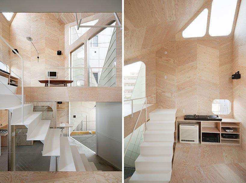 Bud House - Japanese House - Flat House - Tokyo - Living Area - Humble Homes