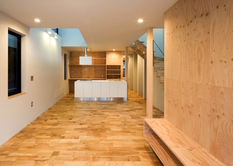 FKH - Japanese House - Shintaro Fukuhara - Kobe - Kitchen - Humble Homes