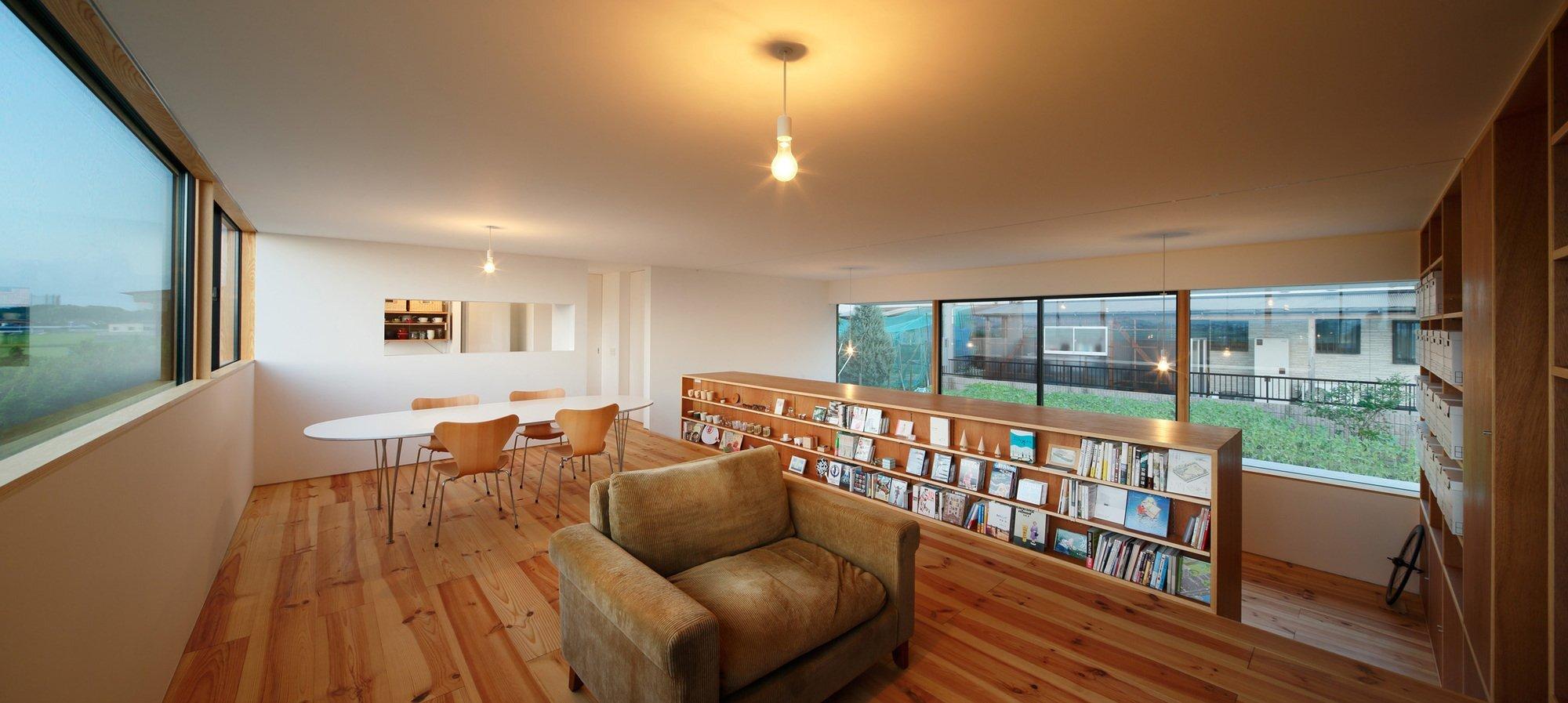 Gui House - Japanese House - Harunatsu-Arch - Shimane Japan - Living Area - Humble Homes