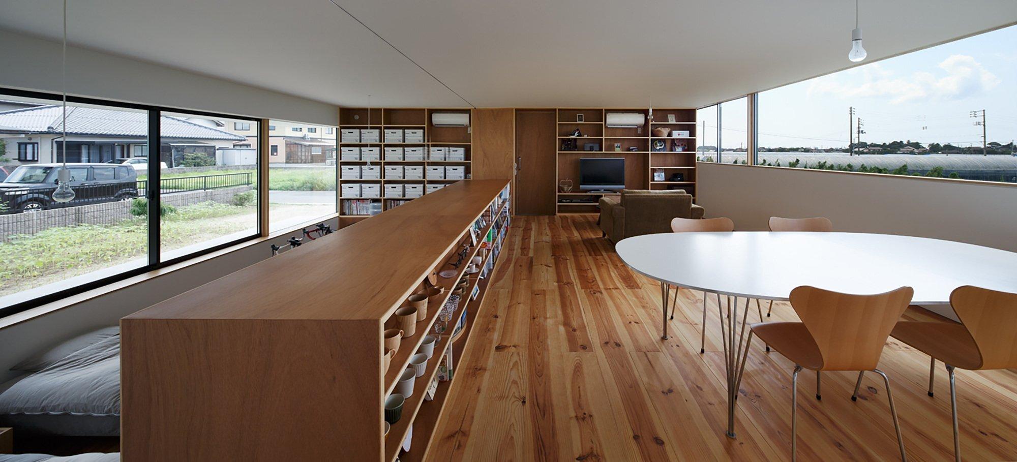 Gui House - Japanese House - Harunatsu-Arch - Shimane Japan - Windows - Humble Homes