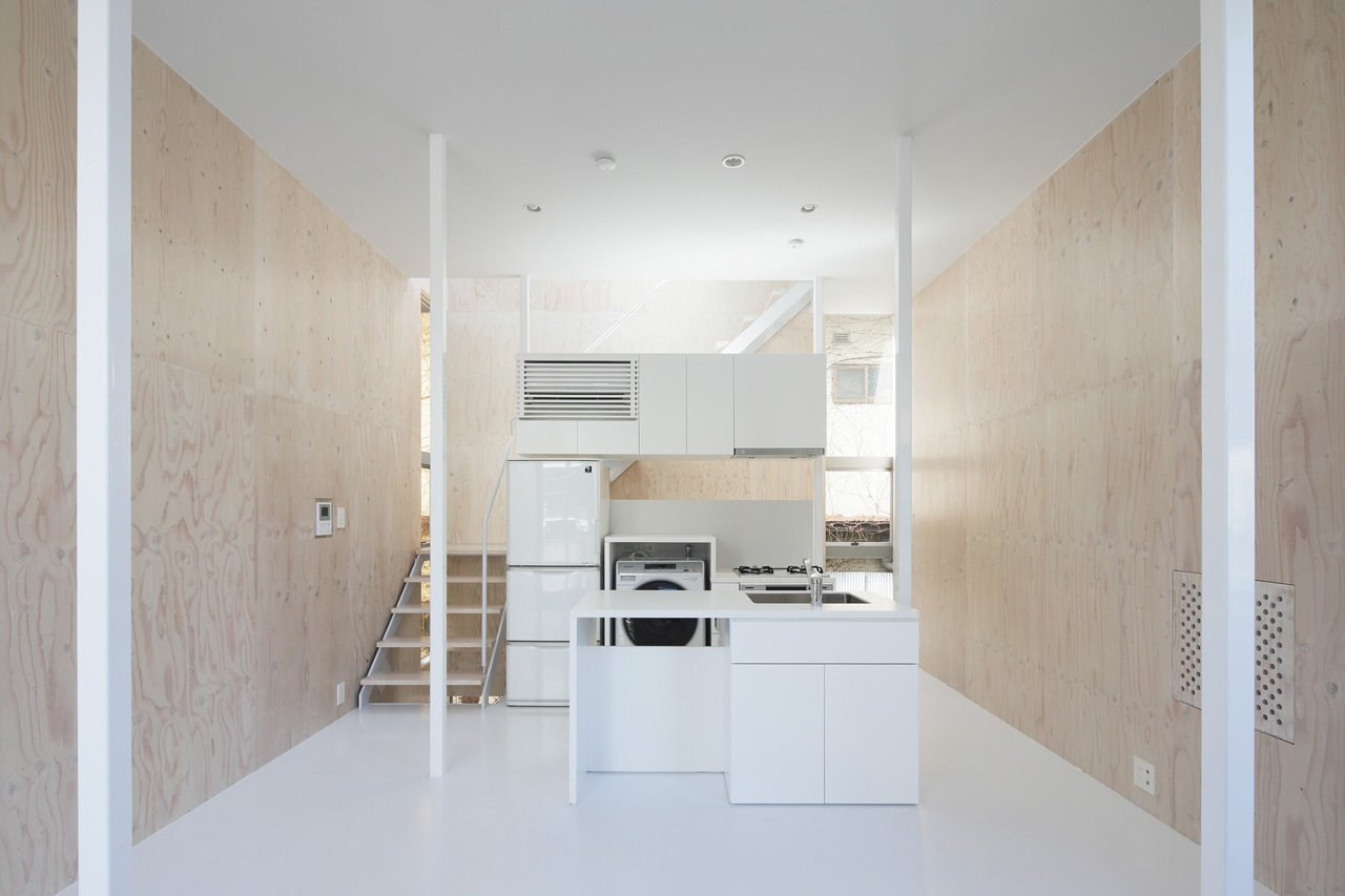 House SH - Japanese House - Coelacanth and Associates - Tokyo - Kitchen - Humble Homes