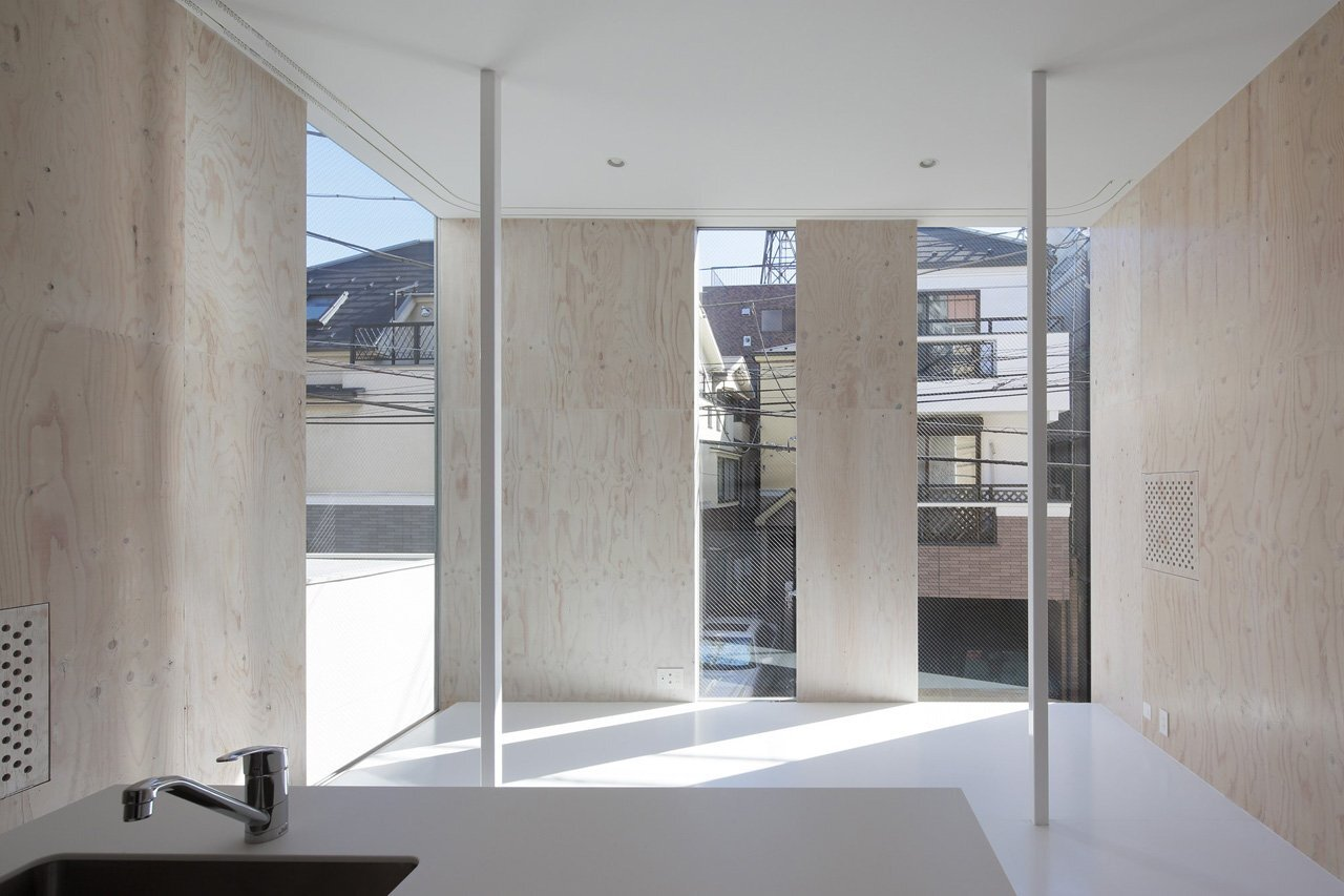 House SH - Japanese House - Coelacanth and Associates - Tokyo - Living Area - Humble Homes
