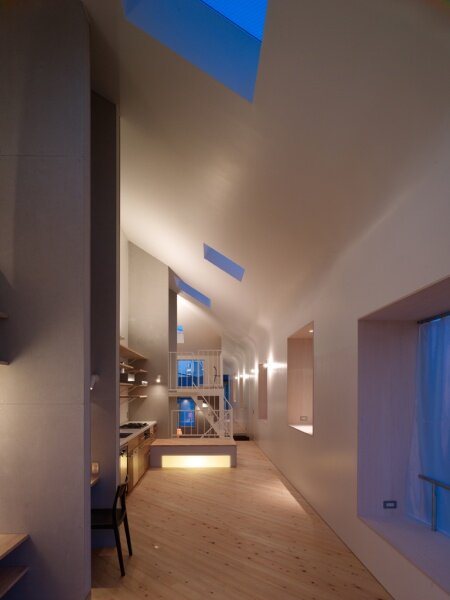 House in Ookayama - Multi-Generational House - Torafu Architects - Japan - Living Area - Humble Homes