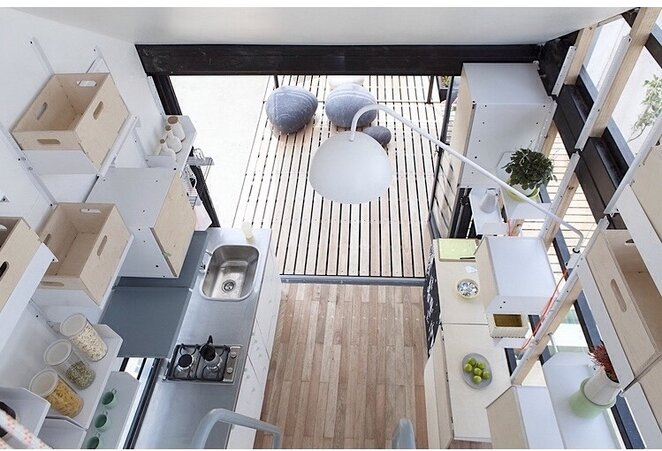 Tiny House - INDAWO - lifePOD - Collaborate000 - South Africa - Kitchen - Humble Homes