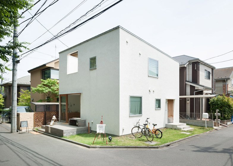 Oeuf - Multifunctional Home - Flat House - Tokyo - Exterior - Humble Homes