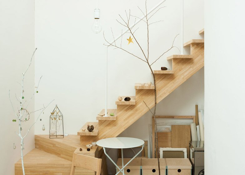 Oeuf - Multifunctional Home - Flat House - Tokyo - Staircase - Humble Homes