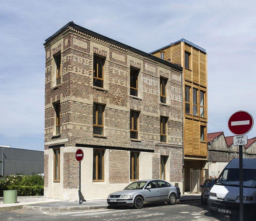 Small Apartments - Atelier Ramdam - France - Au Bon Coin - Exterior - Humble Homes