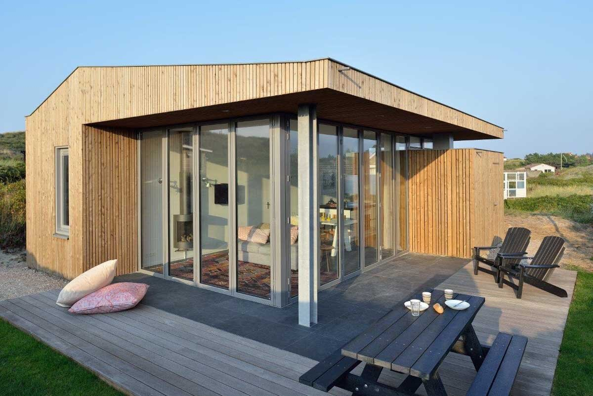 A Small Holiday Home Set on the Dutch Island of Vlieland