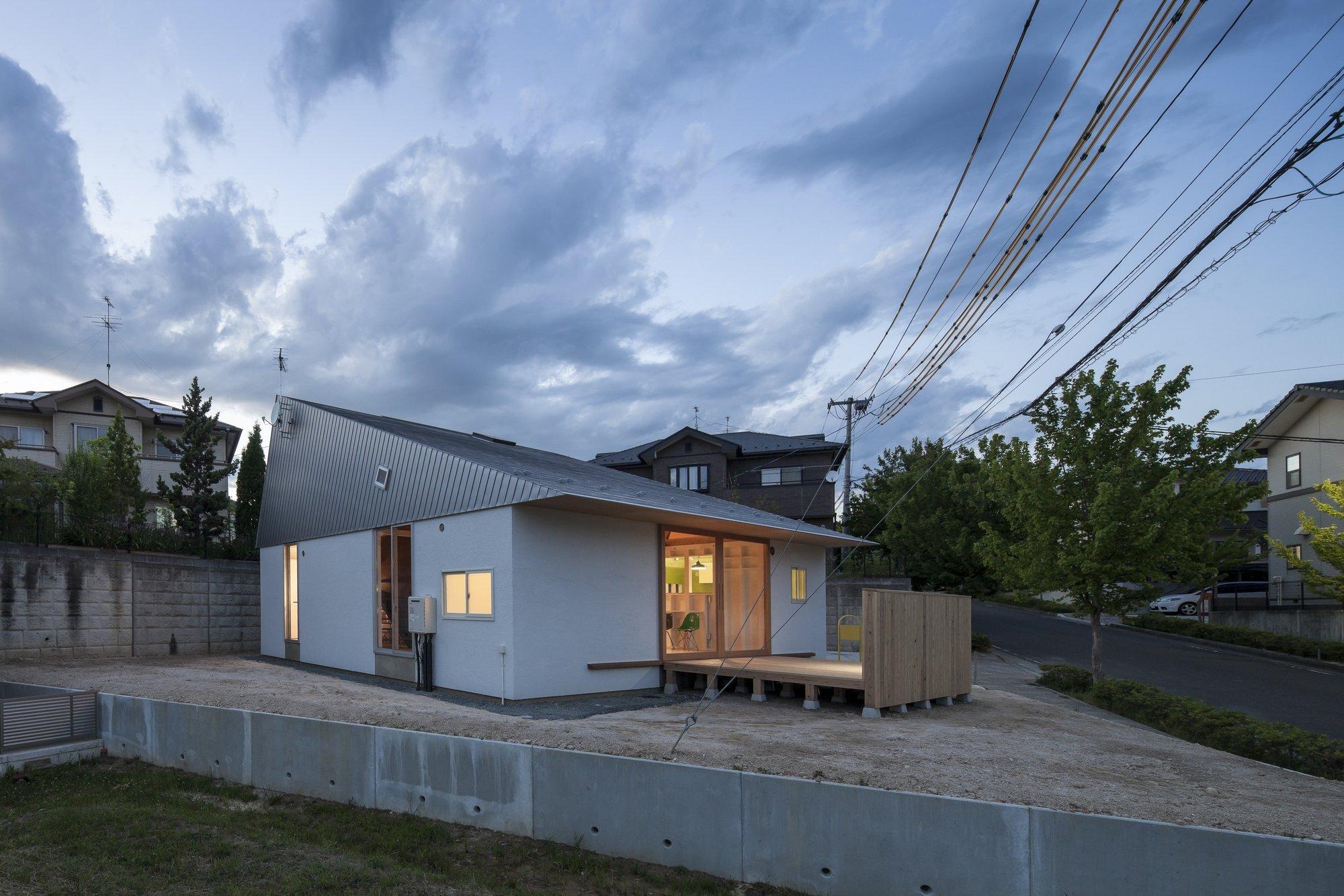 Small House - TASS - Fukushima - Japan - Exterior - Humble Homes