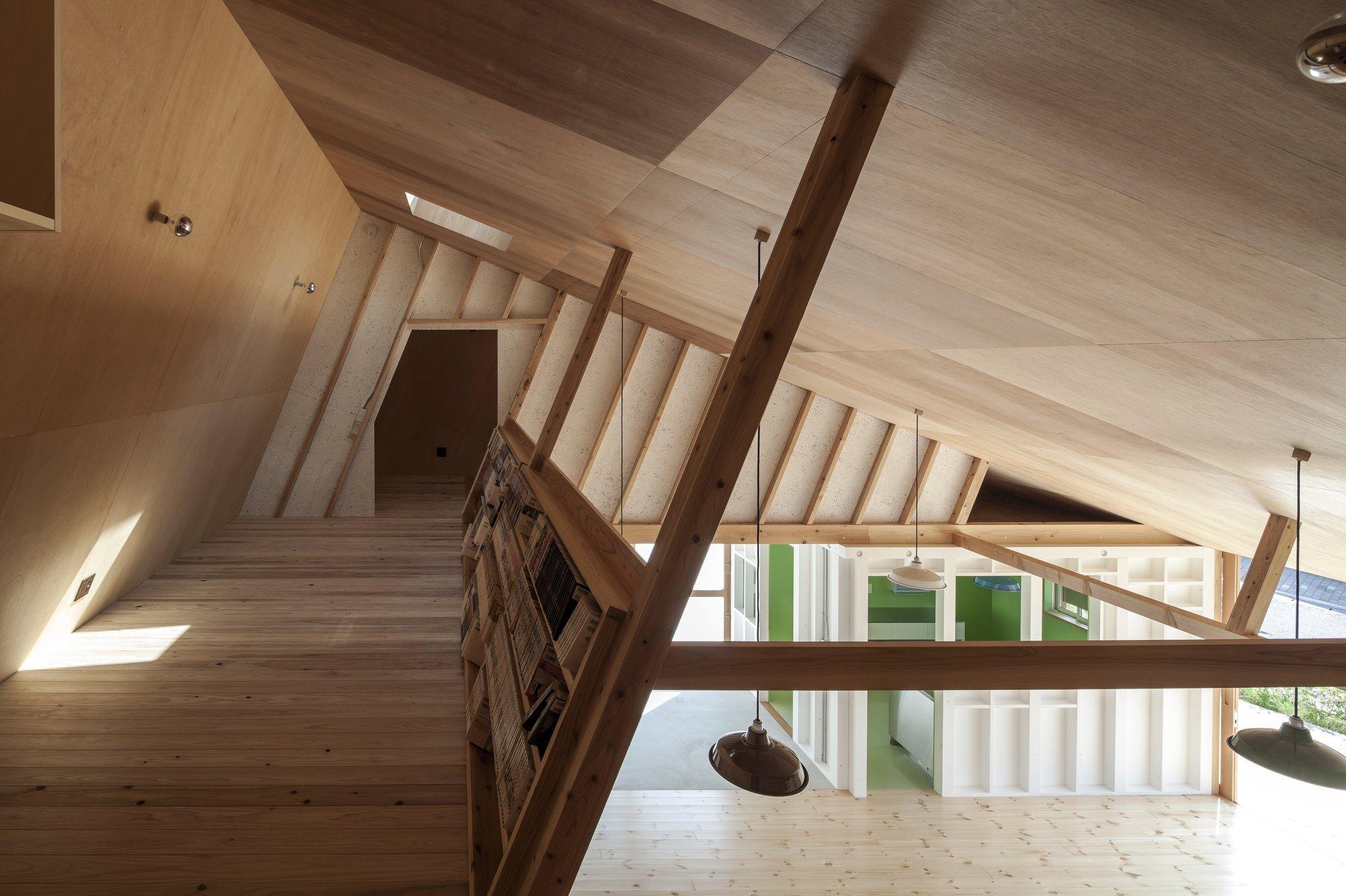 Small house tass fukushima japan loft humble homes