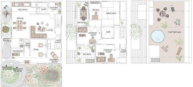 The Montblanc House - Studio Velocity - Japan - Floor Plan - Humble Homes