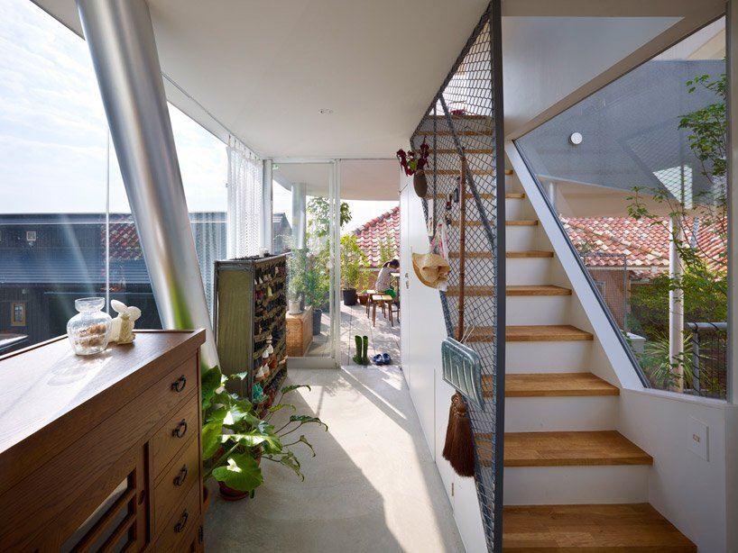 The Toda House - Tiny House - Kimihiko Okada - Japan - Staircase - Humble Homes