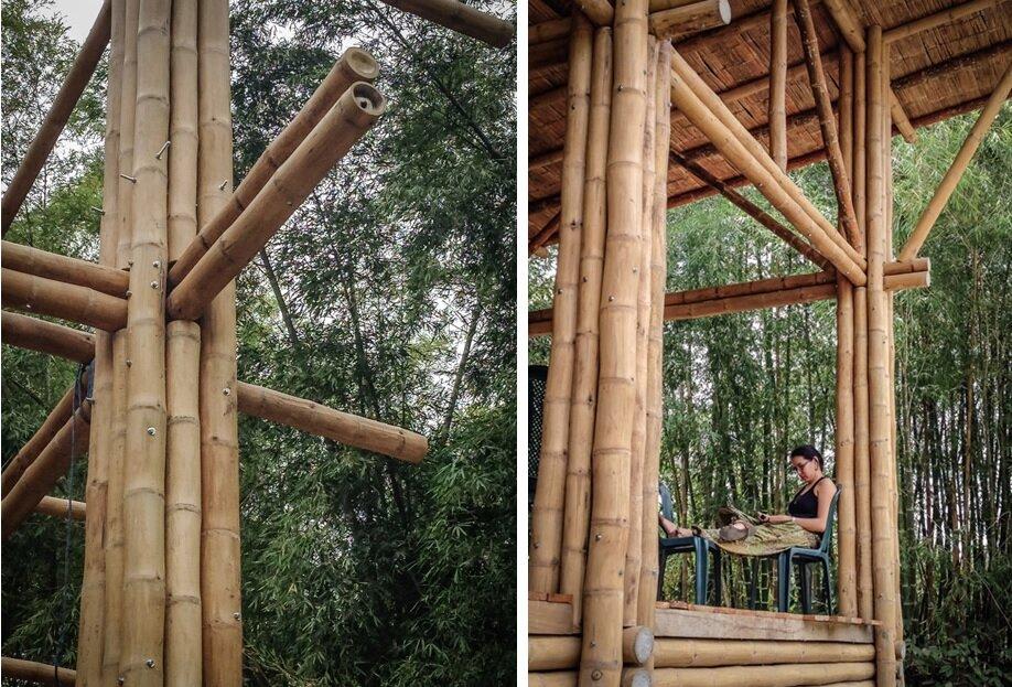Bamboo House - Convento House - Enrique Mora Alvarado - Ecuador - Construction - Humble Homes