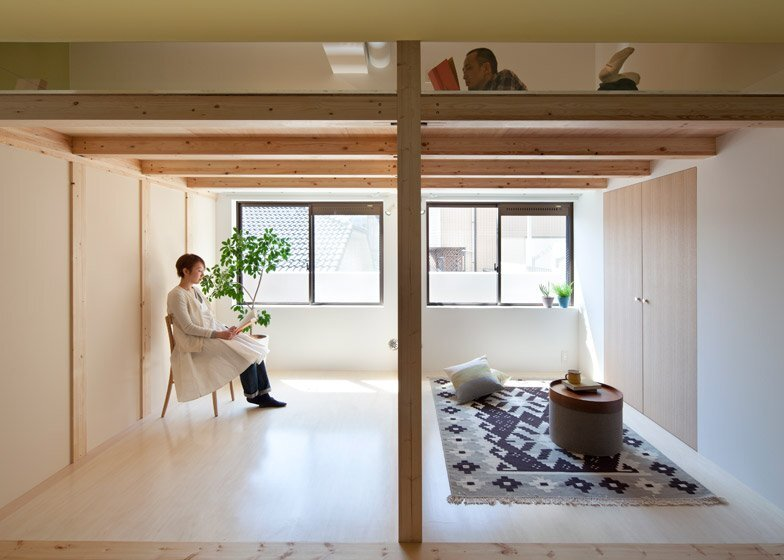 Small Apartment - Fujigaoka T - Sinato - Japan - Living Area - Humble Homes