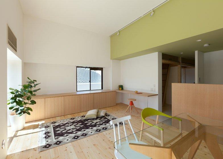 Small Apartment - Fujigaoka T - Sinato - Japan - Living and Dining Area - Humble Homes
