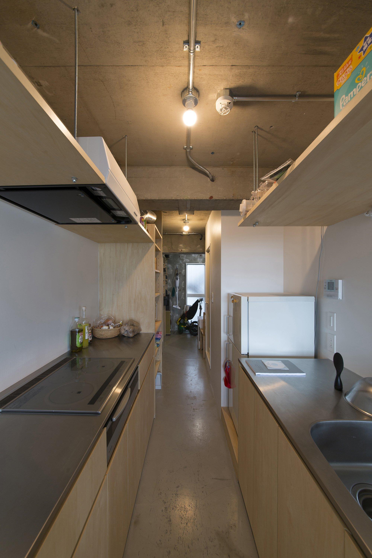 Tsukiji Room H - Yuichi Yoshida & associates - Tokyo - Kitchen - Humble Homes