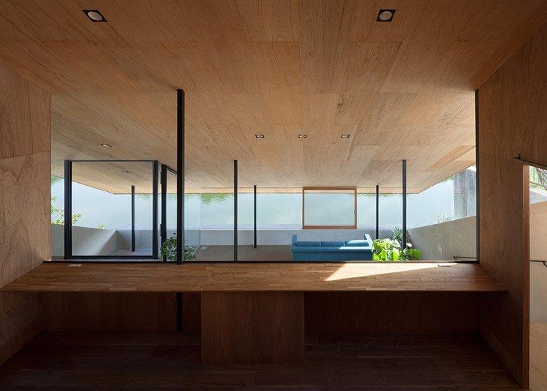 House in Hibaru - Suppose Design Office - Fukuoka Japan - Upper Floor View - Humble Homes