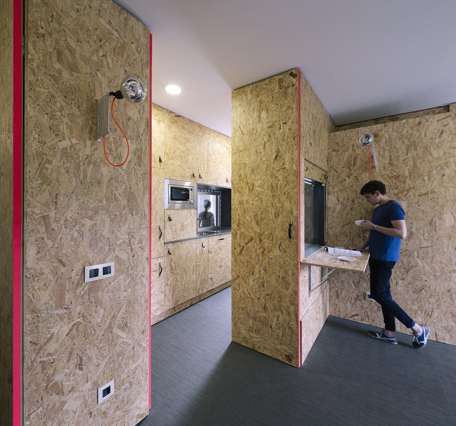 Small Apartment - The POP-UP House - TallerDE2 Arquitectos - Madrid - Kitchen - Humble Homes