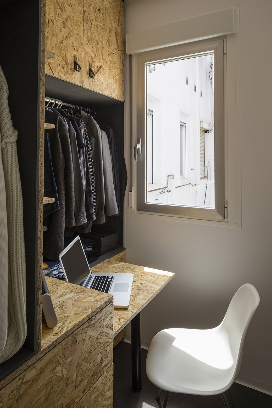 Small Apartment - The POP-UP House - TallerDE2 Arquitectos - Madrid - Study & Storage - Humble Homes