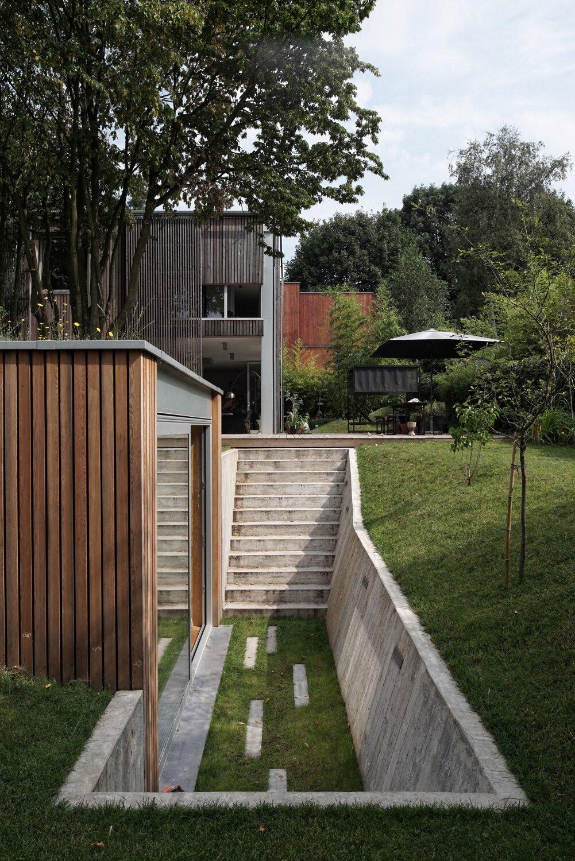 A Sunken Garden Workshop In Belgium By L Escaut
