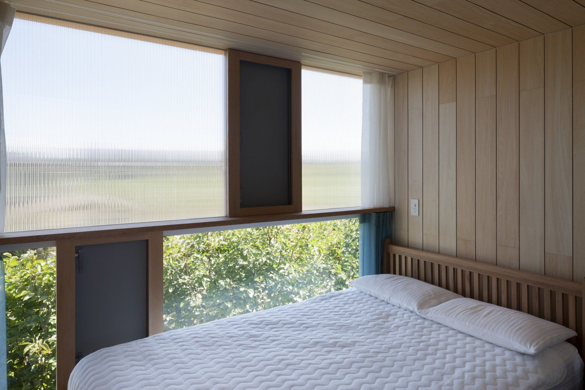 House Passage of Landscape - Japanese House - ihrmk - Toyota Japan - Bedroom - Humble Homes