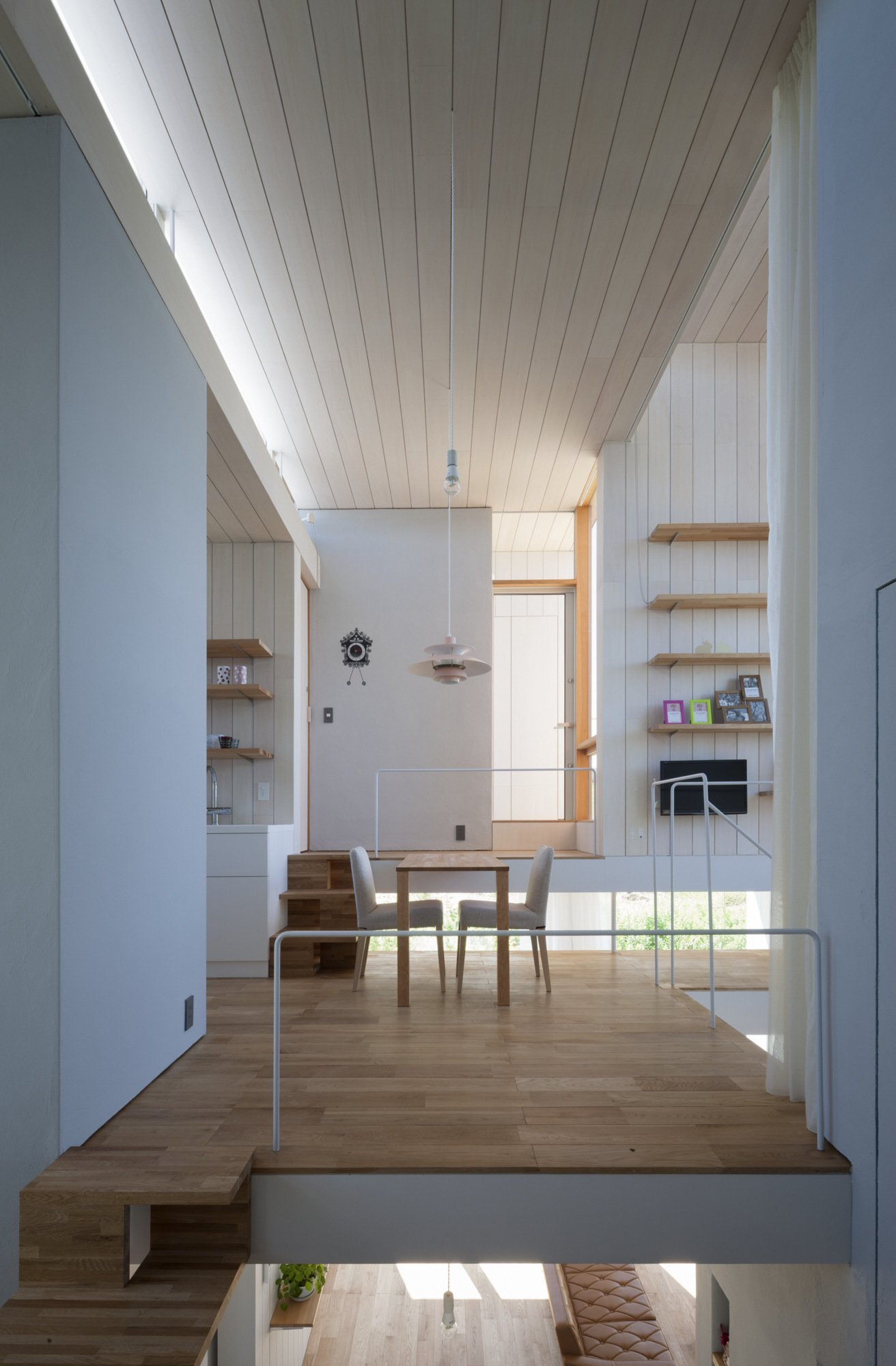 House Passage of Landscape - Japanese House - ihrmk - Toyota Japan - Kitchen and Dining Area - Humble Homes