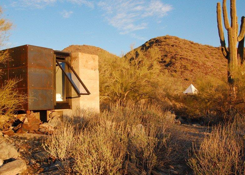 Miners Shelter - David Frazee - Arizona - Exterior - Humble Homes