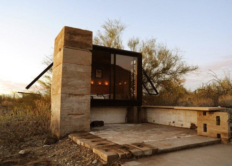 Miners Shelter - David Frazee - Arizona - Front - Humble Homes