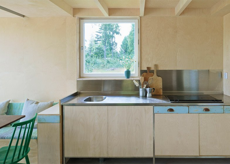 Small House - Summer House - Leo Qvarsebo - Sweden - Kitchen - Humble Homes