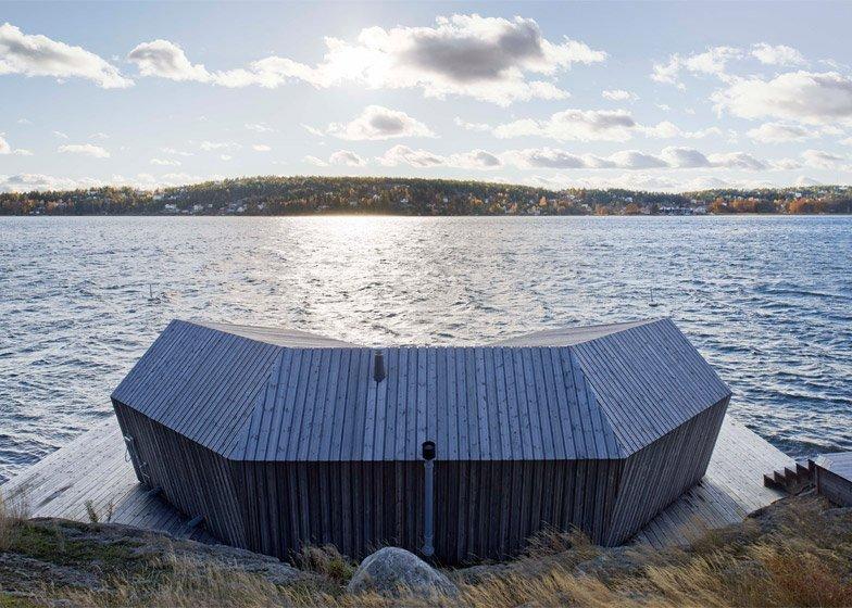 Brenner Bastu Sauna - Tiny Reatreat - Hans Murman - Sweden - Exterior - Humble Homes