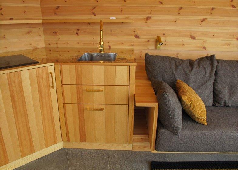 Brenner Bastu Sauna - Tiny Reatreat - Hans Murman - Sweden - Sink - Humble Homes