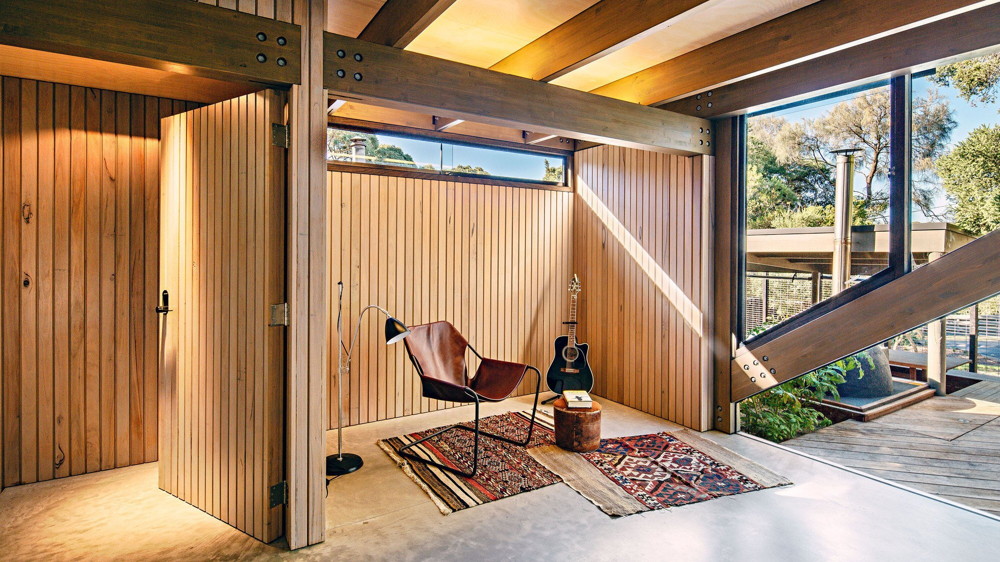 Cabin 2 - Small House - Maddison Architects - Australia - Music Room - Humble Homes