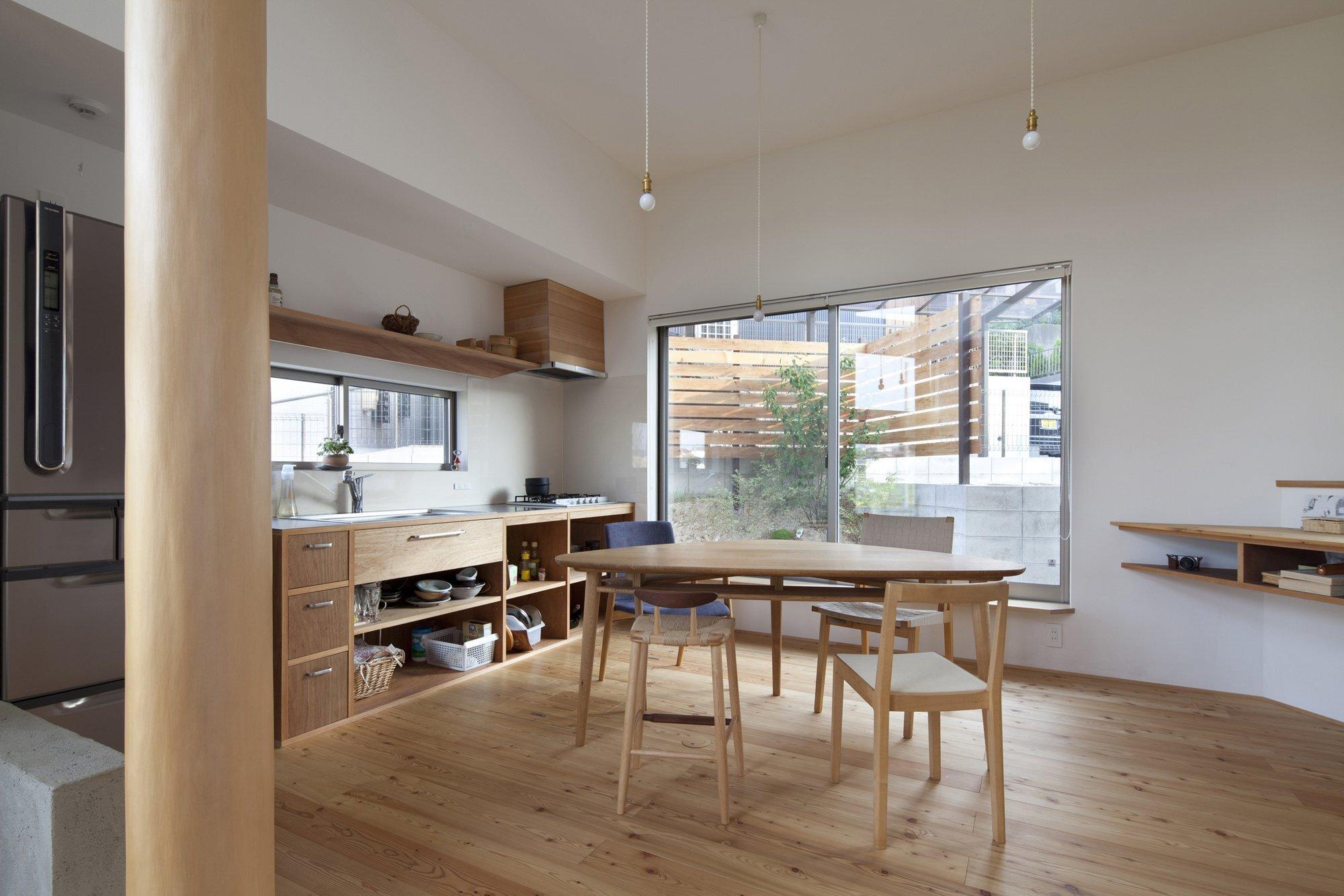 The Frontier House - Small Japanese House - Mamiya Shinichi Design Studio - Toyoake Japan - Kitchen - Humble Homes