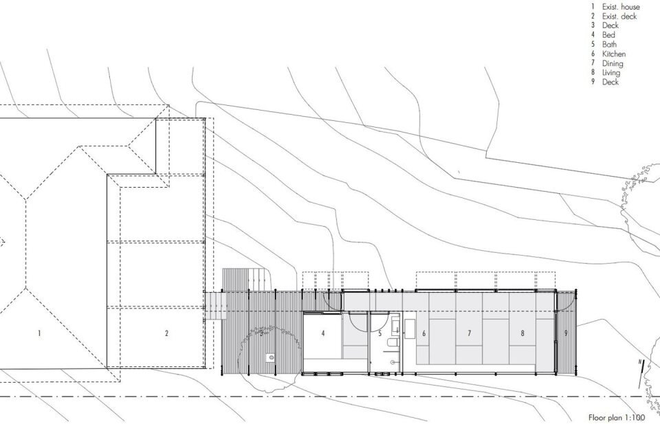 The Pod - Small House - Takt Studio for Architecture - Australia - Floor Plan - Humble Homes