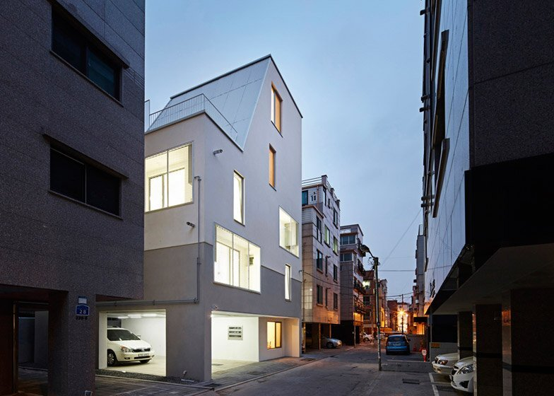 The White Cone House - Small Apartments - Apparat-C - Seoul - Exterior
