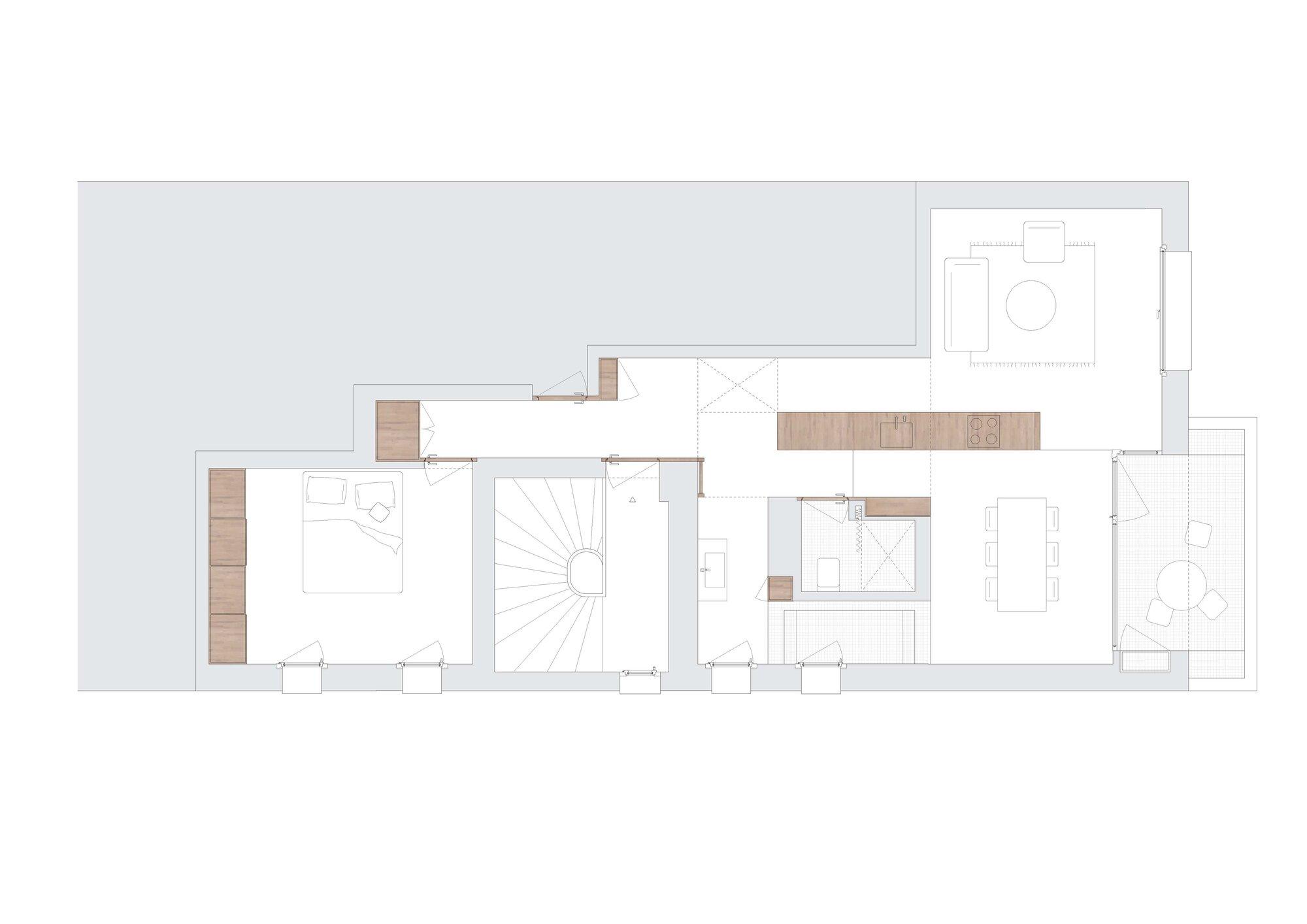 Under the Attic - ahaa - Romania - Floor Plan - Humble Homes