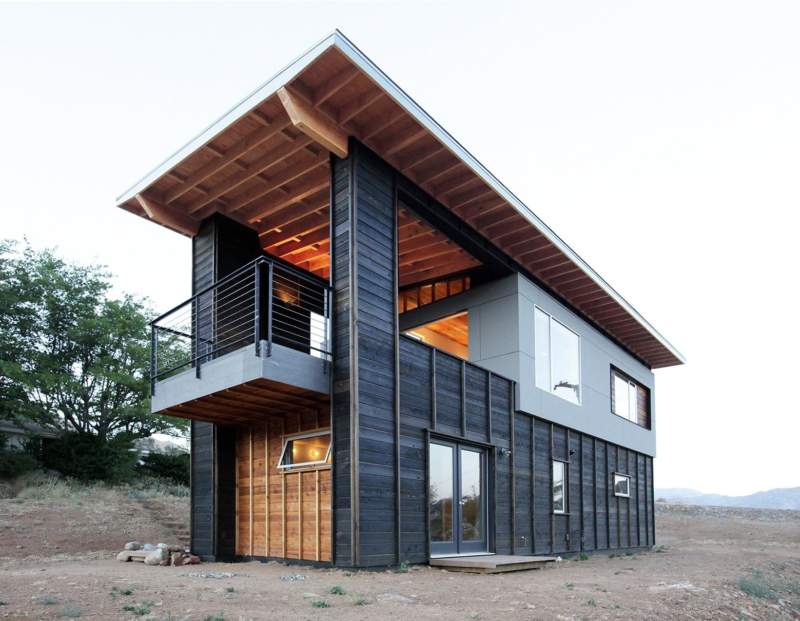 510 Cabin - Small House - Hunter Leggitt Studio - California - Exterior - Humble Homes