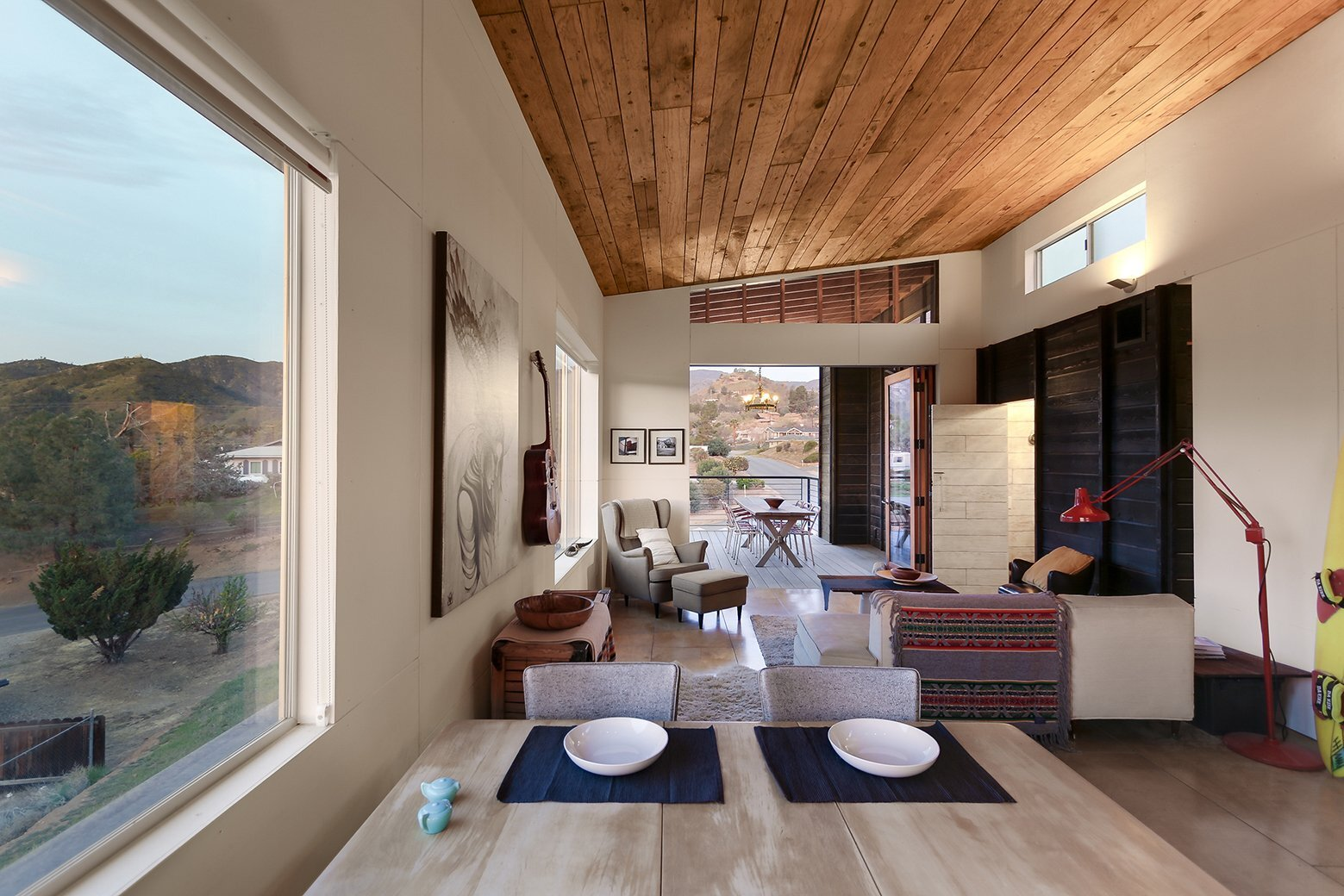 510 Cabin - Small House - Hunter Leggitt Studio - California - Living Area - Humble Homes
