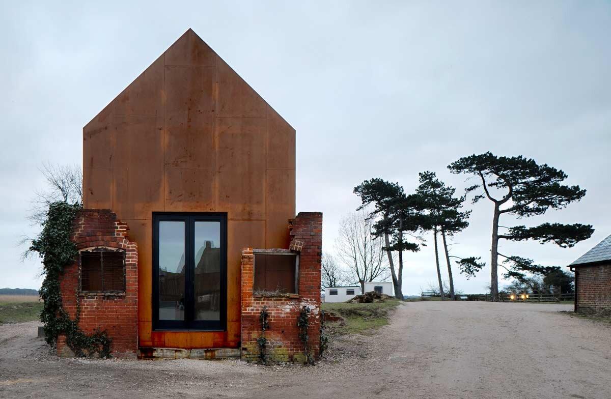 Dovecote Studio - Tiny Retreat - Haworth Tompkins - England - Exterior - Humble Homes