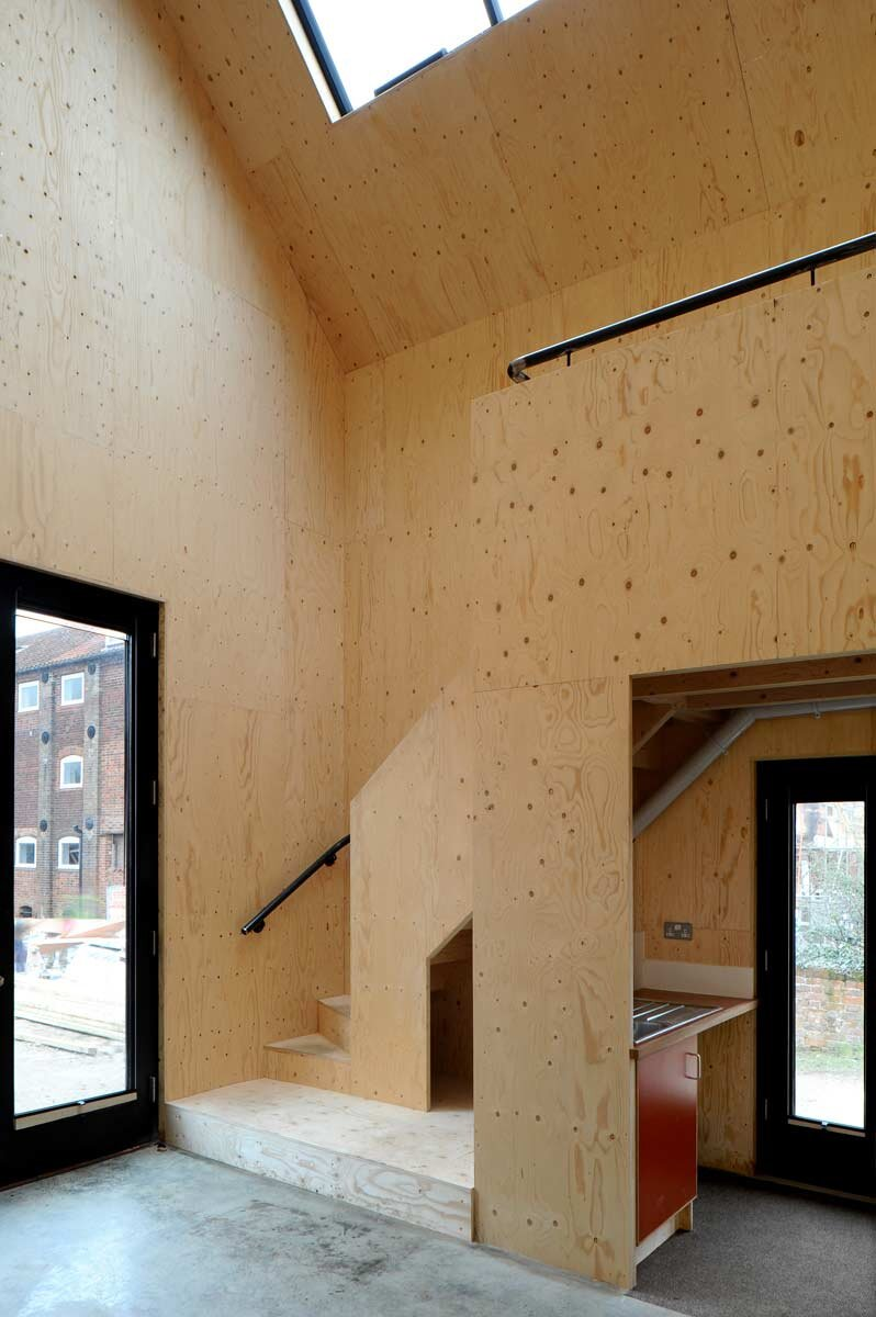 Dovecote Studio - Tiny Retreat - Haworth Tompkins - England - Skylight - Humble Homes
