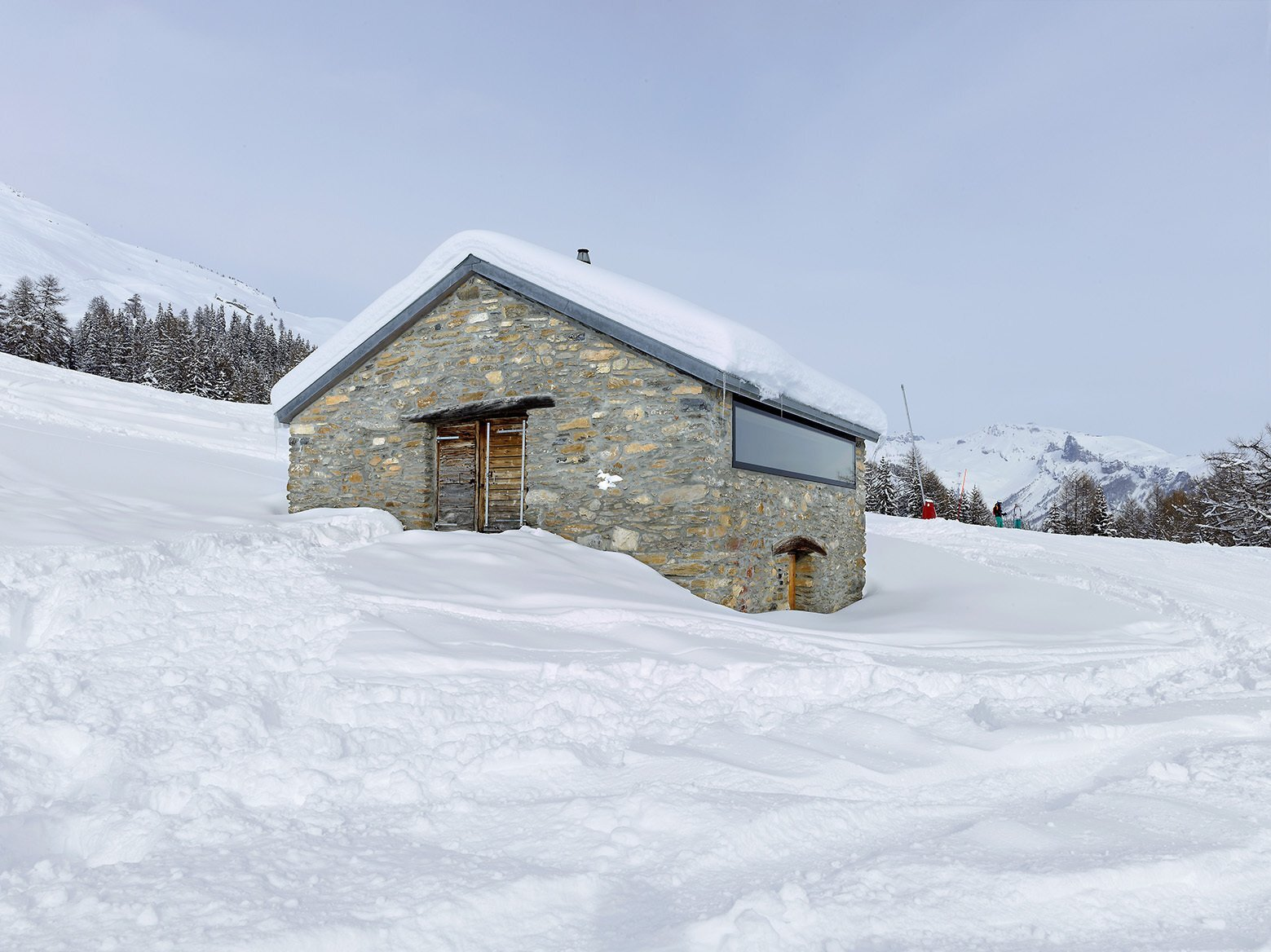 Gaudin House - Small Cabin - Savioz Fabrizzi Architectes - Switzerland - Exterior - Humble Homes