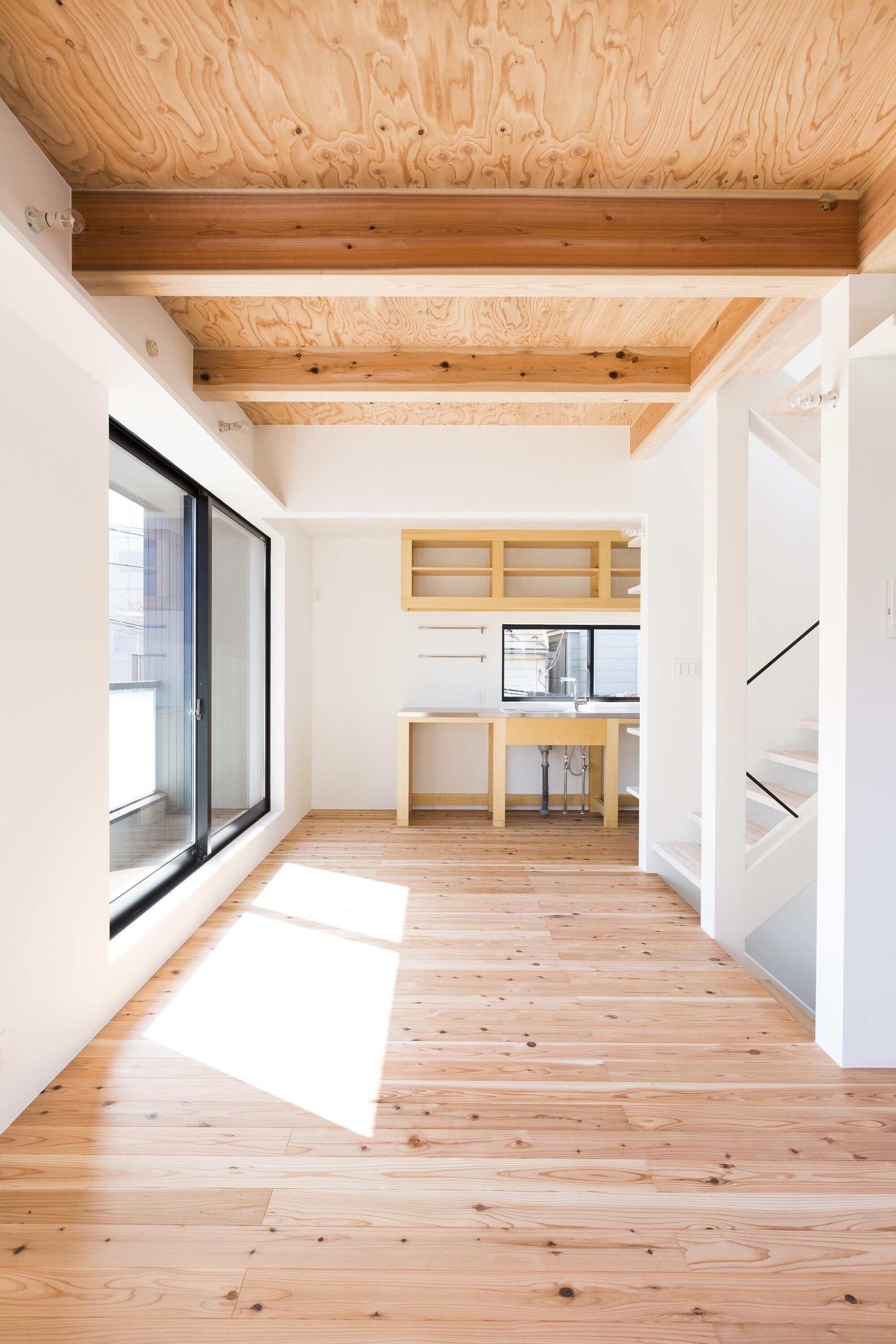 Hibarigaoka S house - Small Japanese House - Kaida Architecture Design Office - Japan - Living Area - Humble Homes
