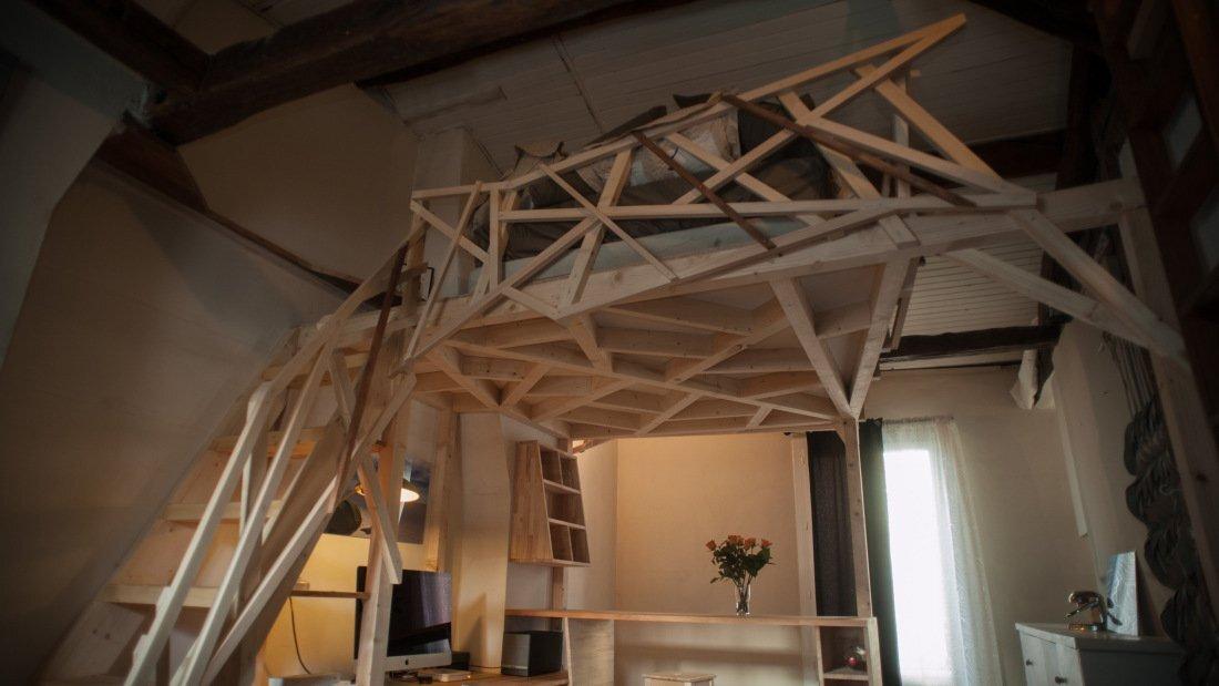 Paris Apartment Redesign - Fabbricabois - Timber Loft 2 - Humble Homes