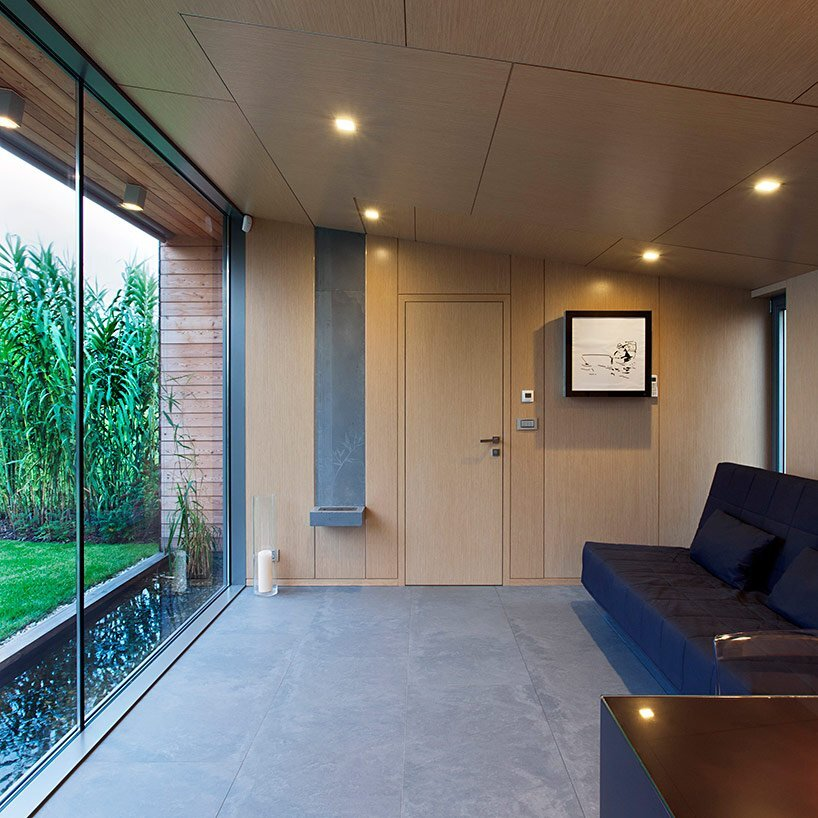 Small Cottage - Toth Project Architecture Office - Hungary - Living Room - Humble Homes