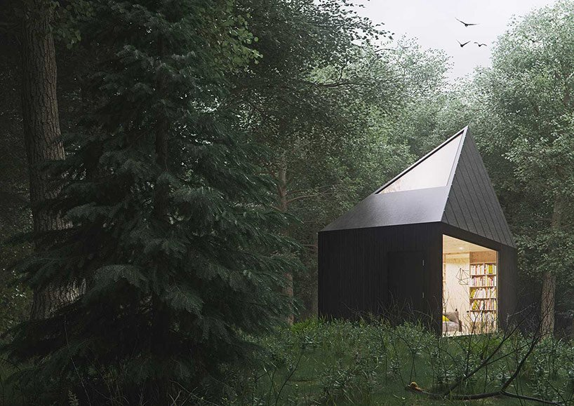 Small Forest Cabin   Tomek Michalski   Poland   Exterior   Humble Homes