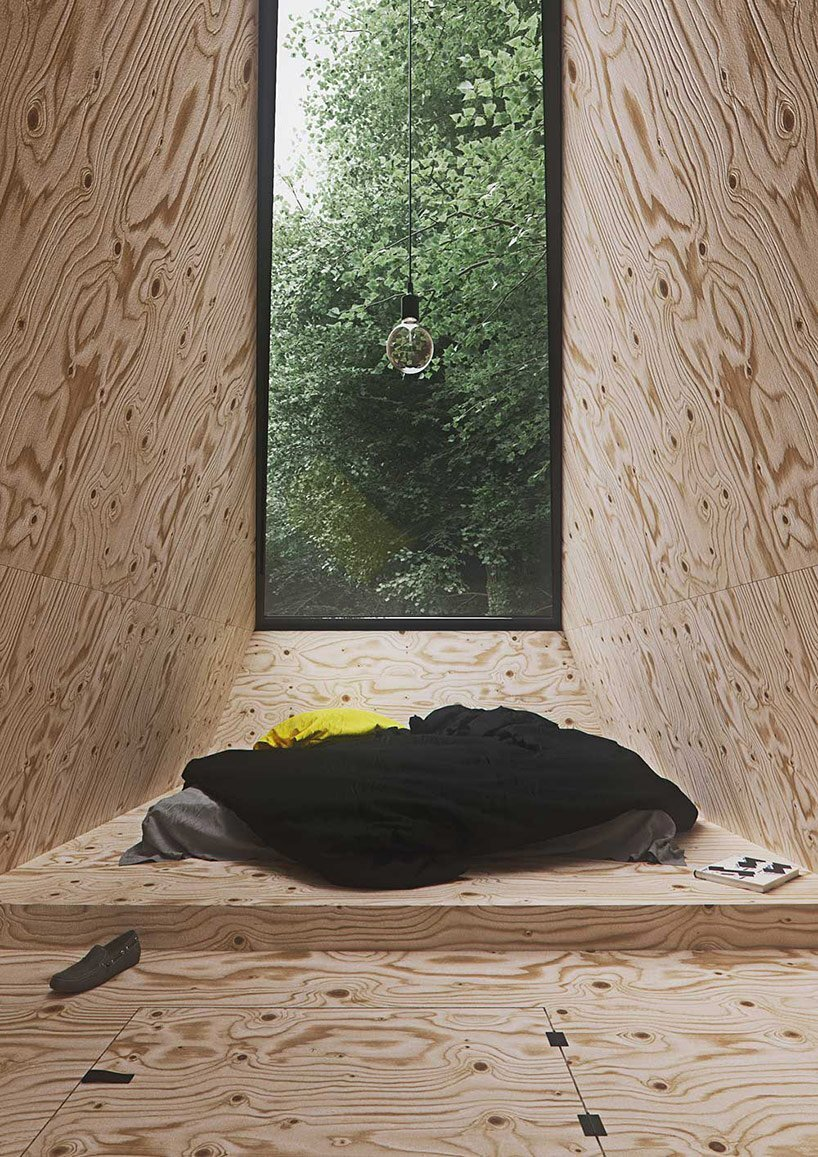 Small Forest Cabin - Tomek Michalski - Poland - Window View - Humble Homes