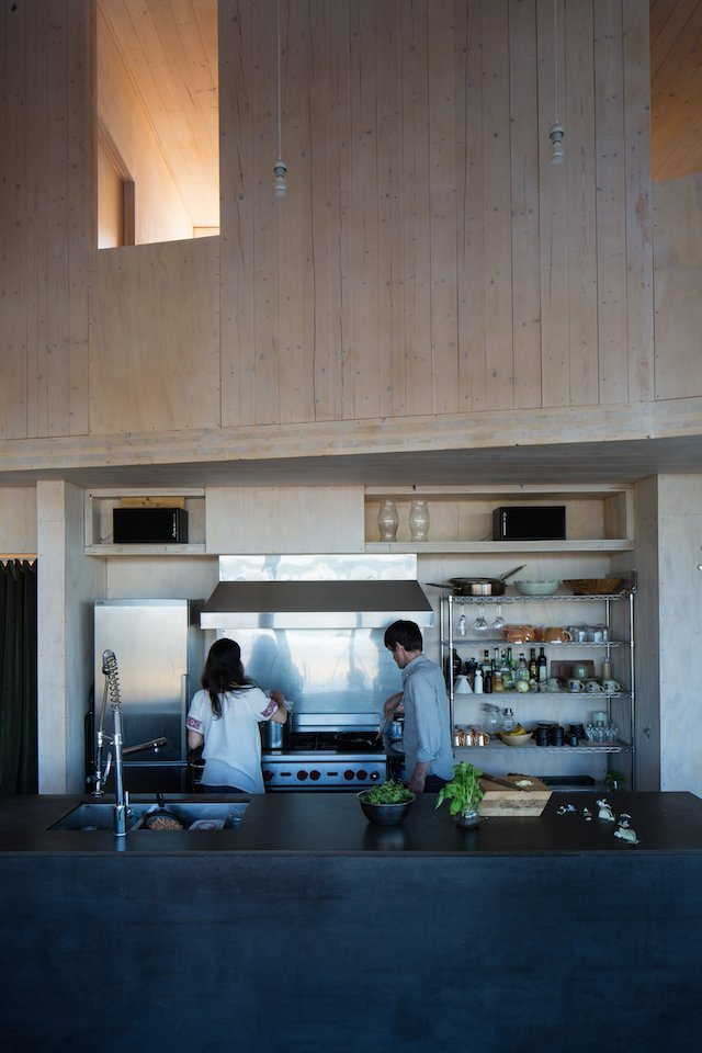 The Sky House - Small Cabin - Jesse Garlick - Vancouver - Kitchen - Humble Homes