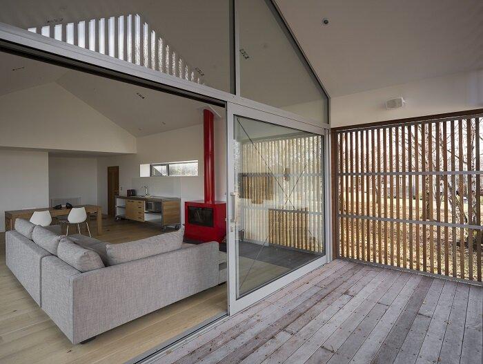 Wakatipu Guest House - Team Green Architects - New Zealand - Living Room - Humble Homes